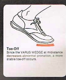 NEW VARUS WEDGE and SOFT SUPPORT SYSTEM