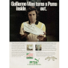 "Puma Vilas Top Spin ""Guillermo Vilas turns a Puma inside out."""