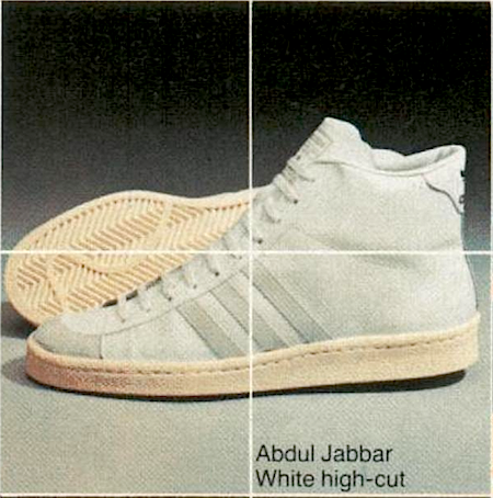 adidas Abdul Jabbar white