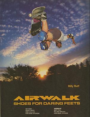 """AIRWALK """"Billy Ruff"""""""