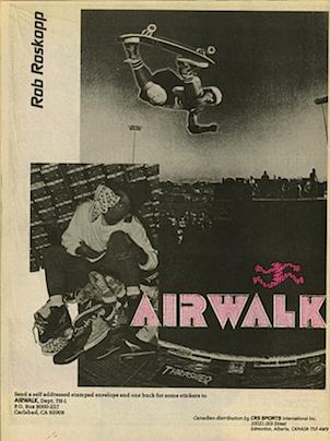 "AIRWALK ""Rob Roskopp"""