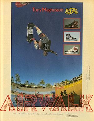 """AIRWALK """"Tony Magnusson"""""""