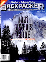 Backpacker April 1991