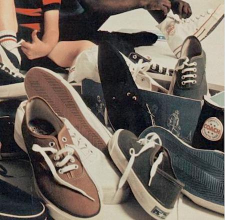 """Converse """"step into Converse. the pros do."""""""