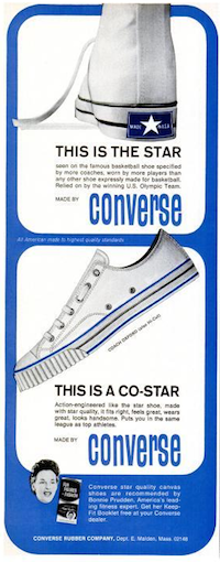 """CONVERSE COACH OXFORD """"THIS IS THE STAR / THIS IS A CO-STAR"""""""