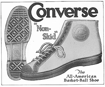"""Converse Non-skid, Sure Foot """"The All"""