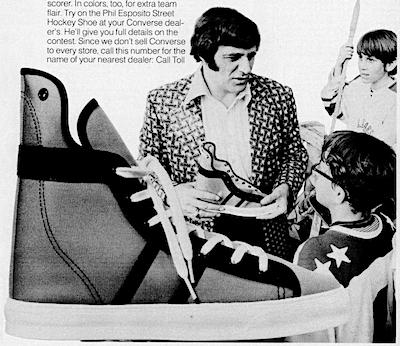 "Converse ""Phil Esposito Street Hockey shoe"""