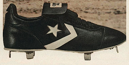 converse baseball cleats �every base lou brock steals he
