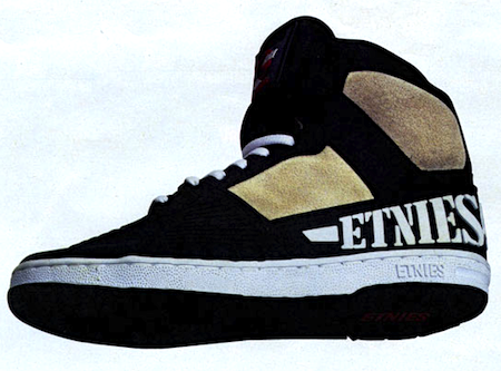 etnies natas �defying limits� old sneaker posters