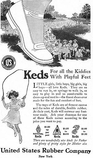 "Keds ""Keds For all the Kiddies With Playful Feet"""