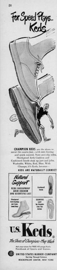 "KEDS CHAMPION ""For Speed Plays… Keds"""