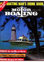 MotorBoating July 1970