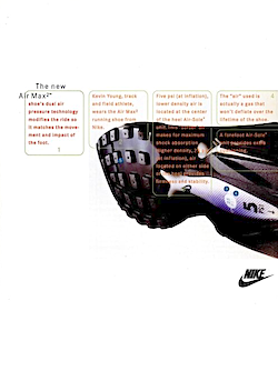 "Nike Air Max2 ""The basic unit in technology is not the bit, but the body."""