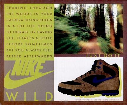 "NIKE CALDERA HIKING BOOTS ""NIKE WILD"""