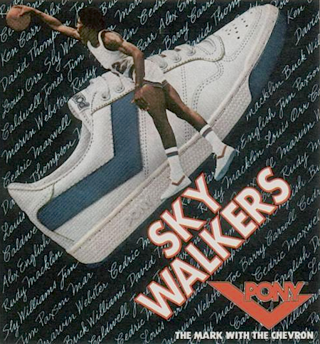 Pony Sky Walkers The mark with the chevron
