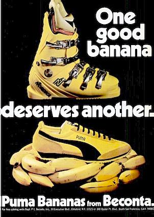 "PUMA Banana ""One good banana deserves another"""