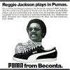 "PUMA baseball shoes ""Reggie jackson plays in Pumas."""