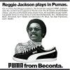 "PUMA baseball shoes ""Reggie jackson plays in Pumas."""