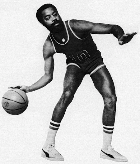 """22a57f29a3a PUMA basket """"I steal for a living by  Clyde  Frazier"""""""