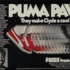 "PUMA Clyde ""PUMA PAWS They make Clyde a cool cat."""