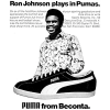 "PUMA football shoes ""Ron Johnson plays in Pumas."""