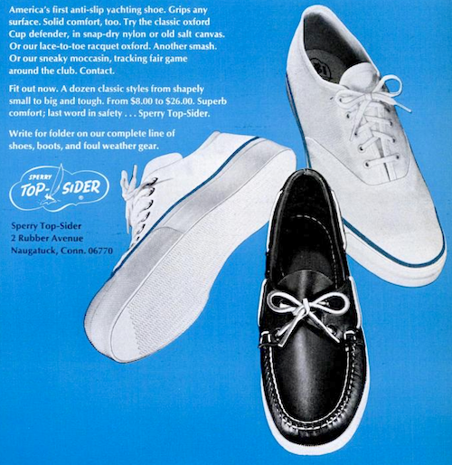 The shoe for contact sports Sperry Top-Sider