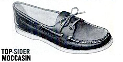sperry top-sider moccasin