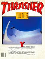 Thrasher Skateboard Magazine April 1987
