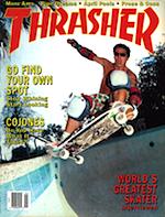 Thrasher Skateboard Magazine April 1988