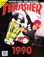 Thrasher Skateboard Magazine January 1990