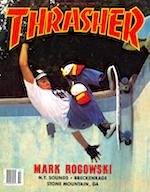 Thrasher Skateboard Magazine July 1987