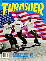 Thrasher Skateboard Magazine July 1988