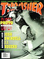 Thrasher Skateboard Magazine July 1991