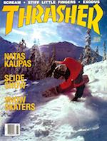 Thrasher Skateboard Magazine May 1988