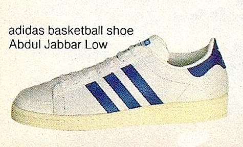 adidas Abdul Jabbar Low basketball shoe
