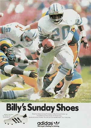 "adidas football cleats ""Billy's Sunday Shoes"""