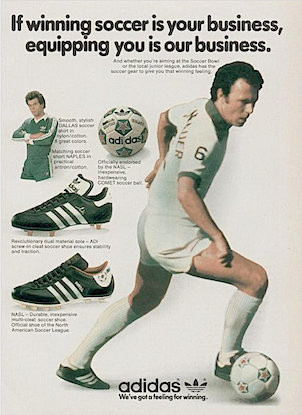 """adidas soccer shoes """"If winning soccer is your business, equipping you is our business."""""""
