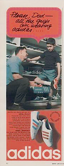 """adidas Vienna, Americana """"Please, Dad - all the guys are wearing adidas..."""""""