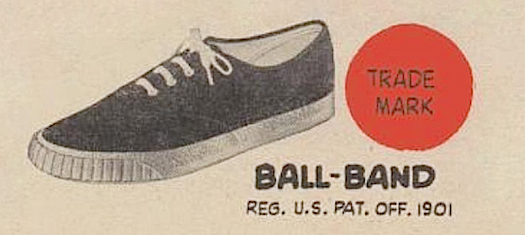 BALL-BAND CANVAS SHOES