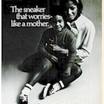 "B.F Goodrich P.F FLYERS ""The sneaker that worries – like a mother."""