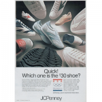 "JCPenney shoes ""Quick! Which one is the $30 shoe?"""