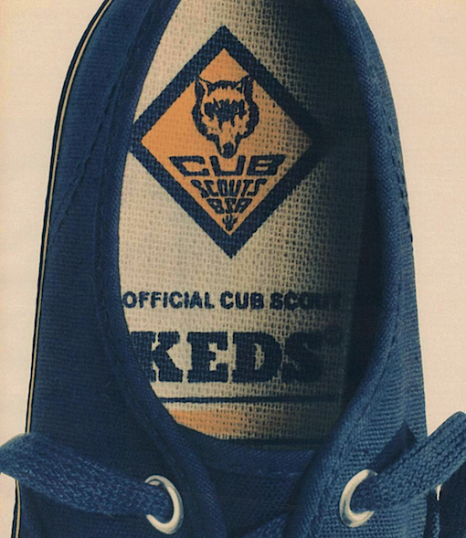 Keds The official Cub Scout sneakers