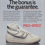 "Pro-Specs Silver Ghost ""The bonus is the guarantee"""