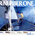 "SPERRY TOP-SIDER ""WEAR NUMBER ONE."""