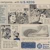 "U.S. Keds ""Footwork wins the camporee… with U.S. KEDS"""