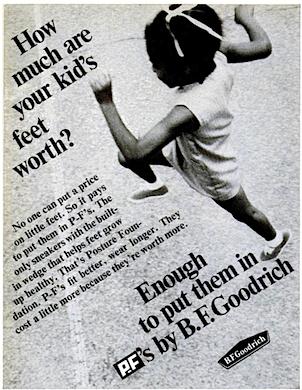 B.F. Goodrich P-F's