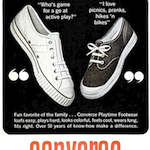 "Converse footwear ""TALK ABOUT FUN"""