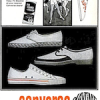 "Converse footwear ""KEEPING FIT IS A FUN HABIT … in the shoes i wear for FUN"""
