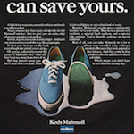 "Keds Mainsail ""Our bottom can save yours."""