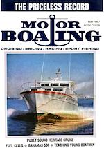 MotorBoating May 1967
